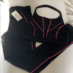 Women's matching workout set from Fashion Nova